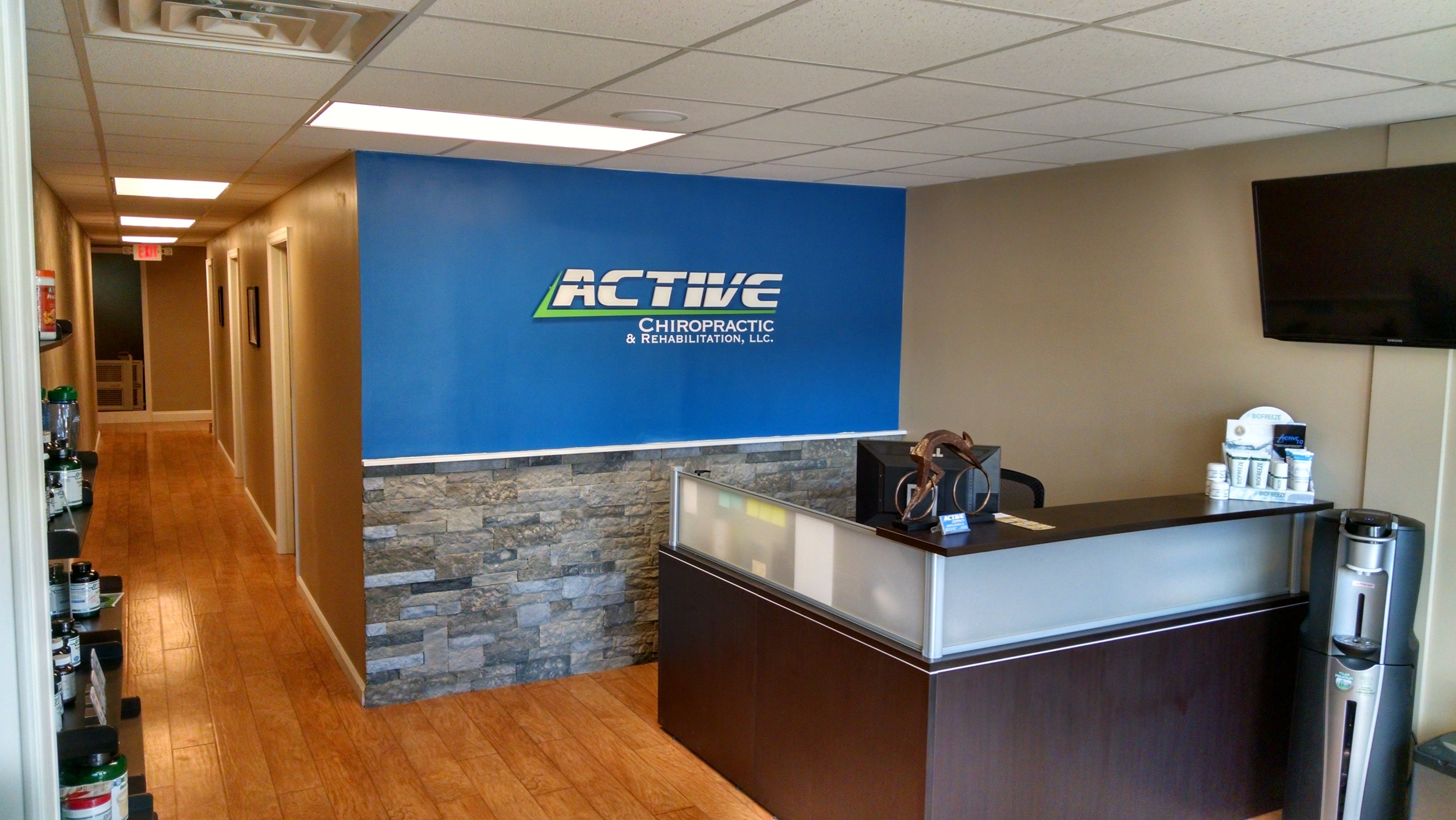 Active Chiropractic Murrysville Waiting Room