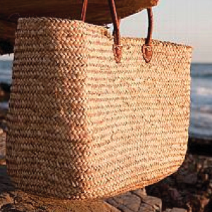 Find #4 is a company called Simple Peace Bags. This company makes beautiful farmers market baskets and other reusable shopping bags. The mission of Simple Peace is to produce and make available beautiful, stylish reusable bags made of heavy duty natural canvas and sustainable materials.Their bags are ethically made using fair wage labor.   https://www.simplepeace.com