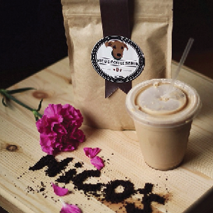 nico's coffee scrub    This company makes an amazing scrub for your skin.   With every purchase of a coffee scrub, you are helping provide veterinary aid to animals in developing countries.      http://www.nicoscoffeescrub.com