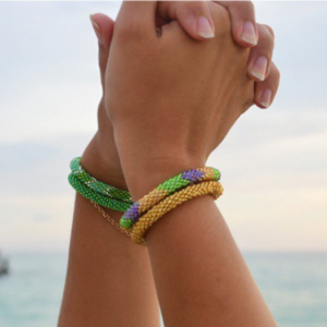 Sashka Co  The company empowers women in need through Fair Trade.   http://sashkaco.com