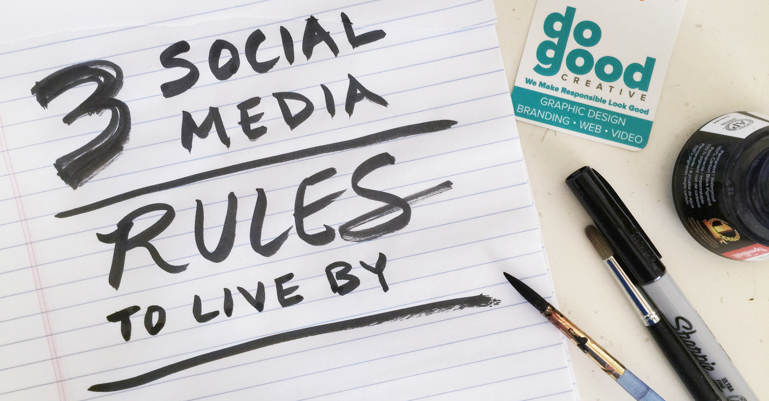 3 social media rules to live by