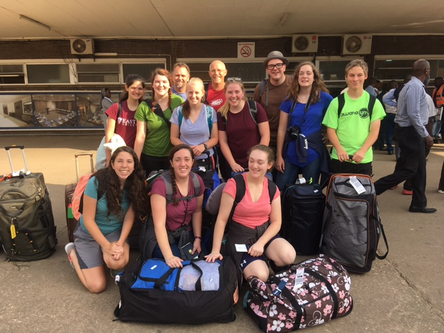 """""""After two long flights, we have arrived to a warm welcome at Awana Zambia. We're tired from travel, yet ready to serve. Thanks for your prayers."""""""