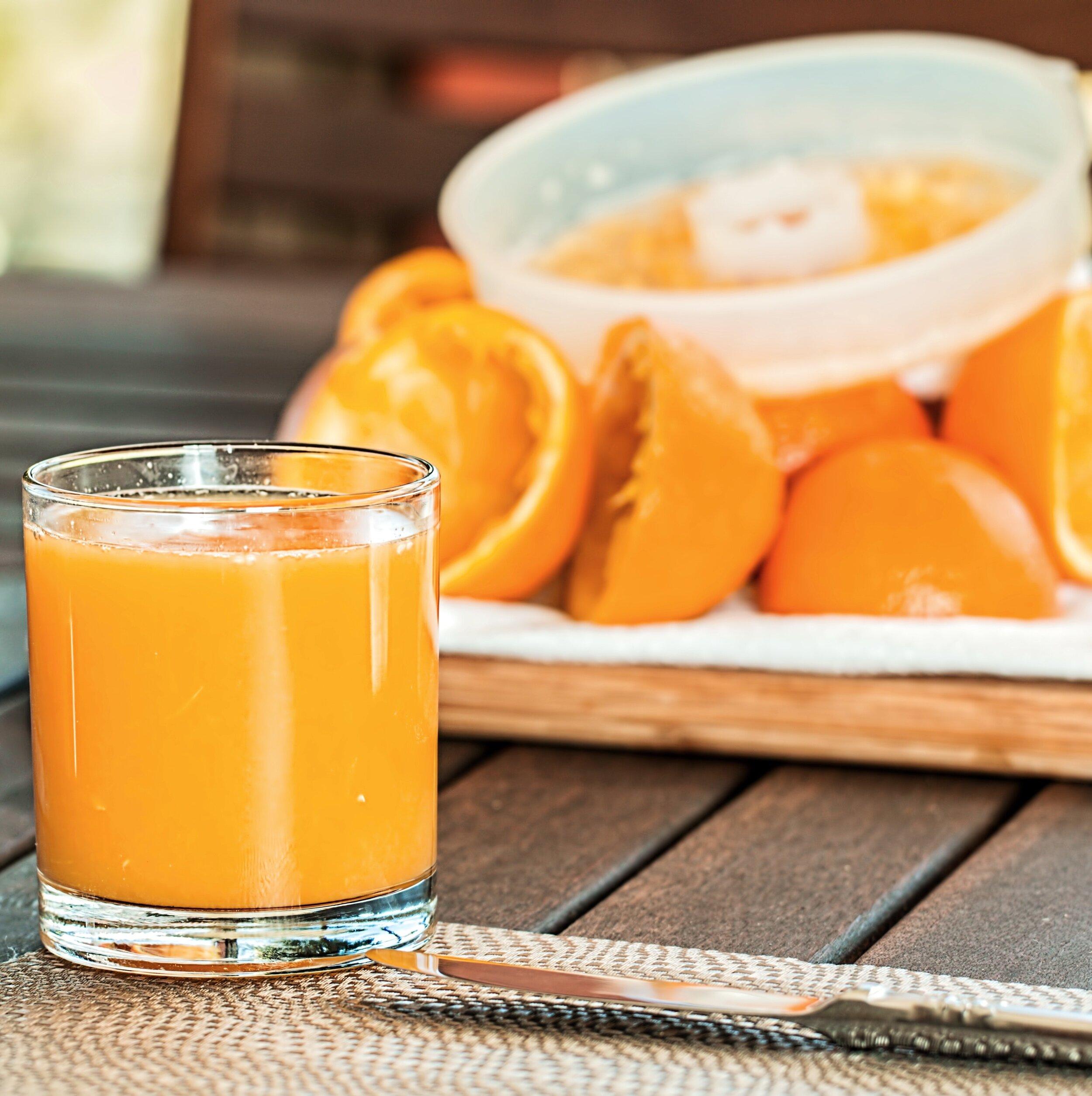 Easy peasy orange squeezy!