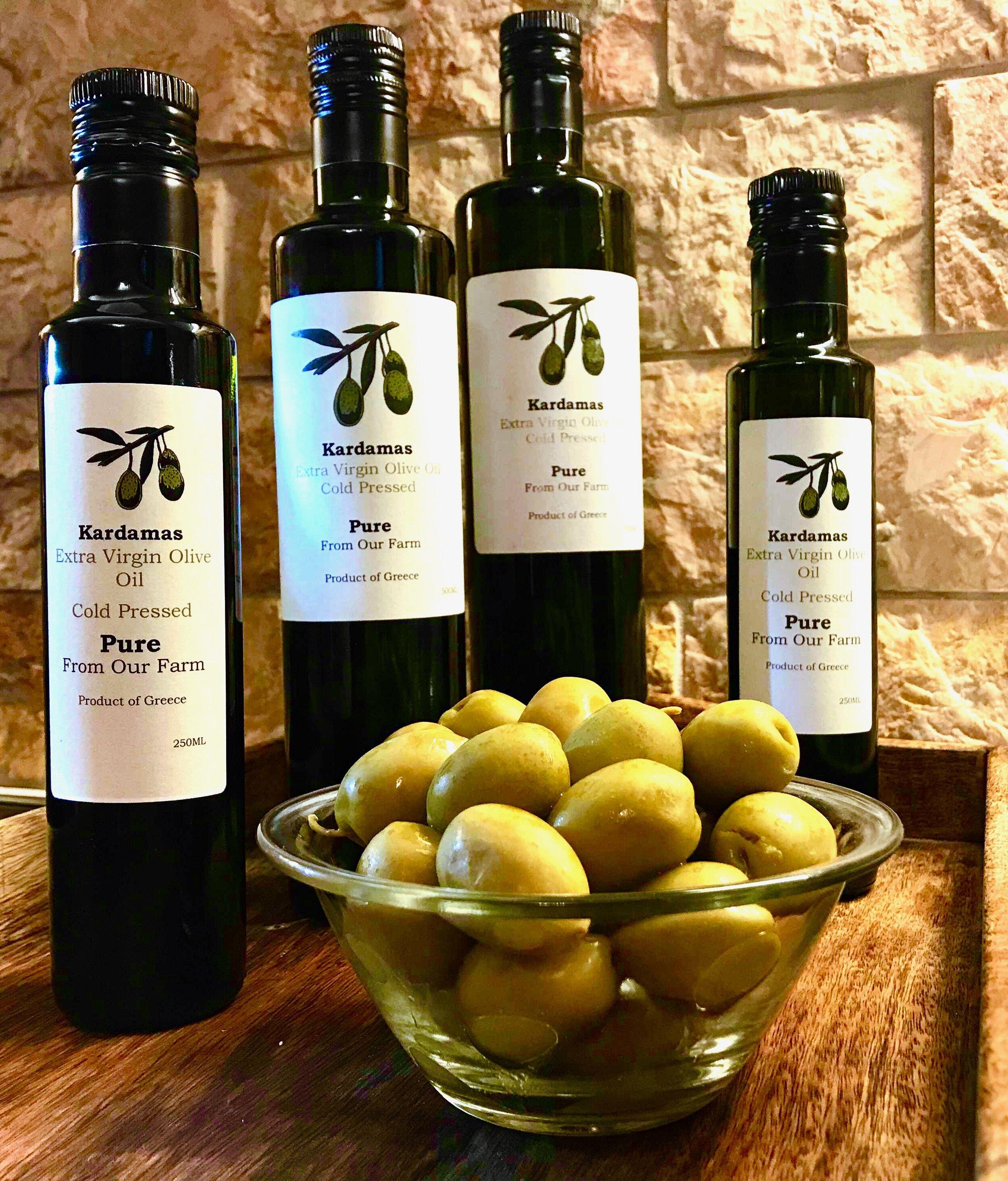 Kardamas extra virgin olive oil