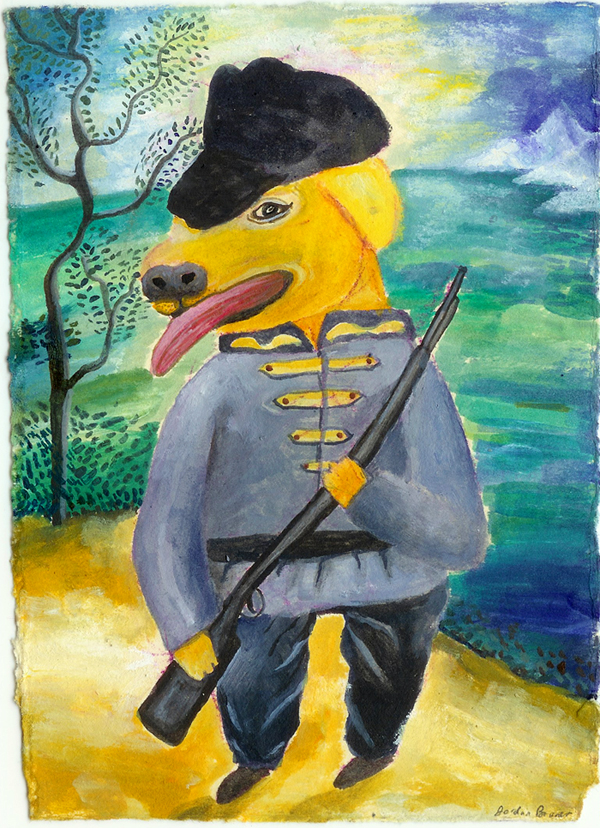 Confederate Dog Soldier