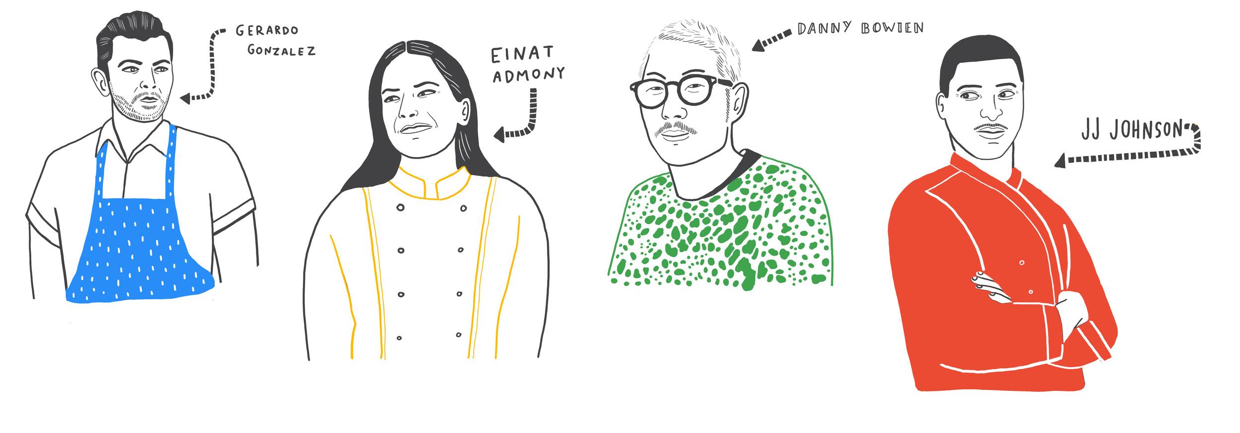 Chef Illustrations