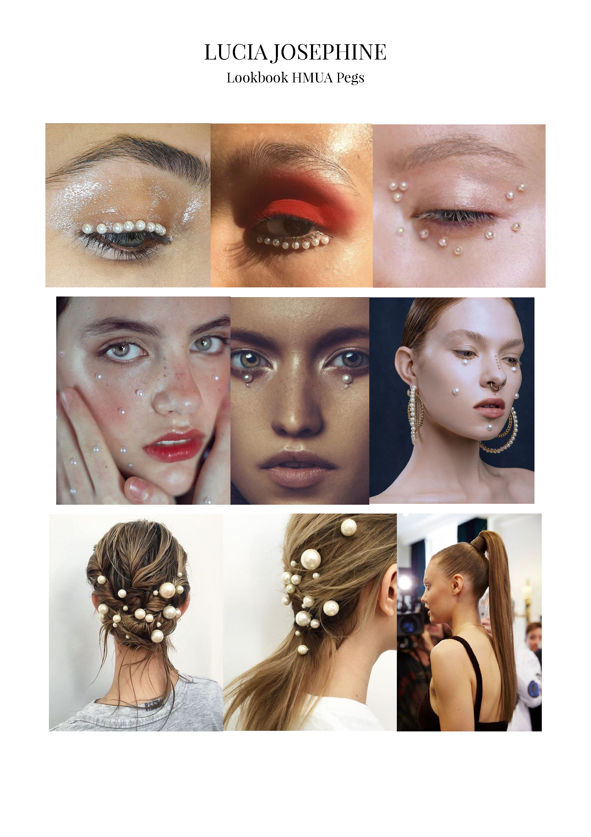 Hair and Make-up Pegs