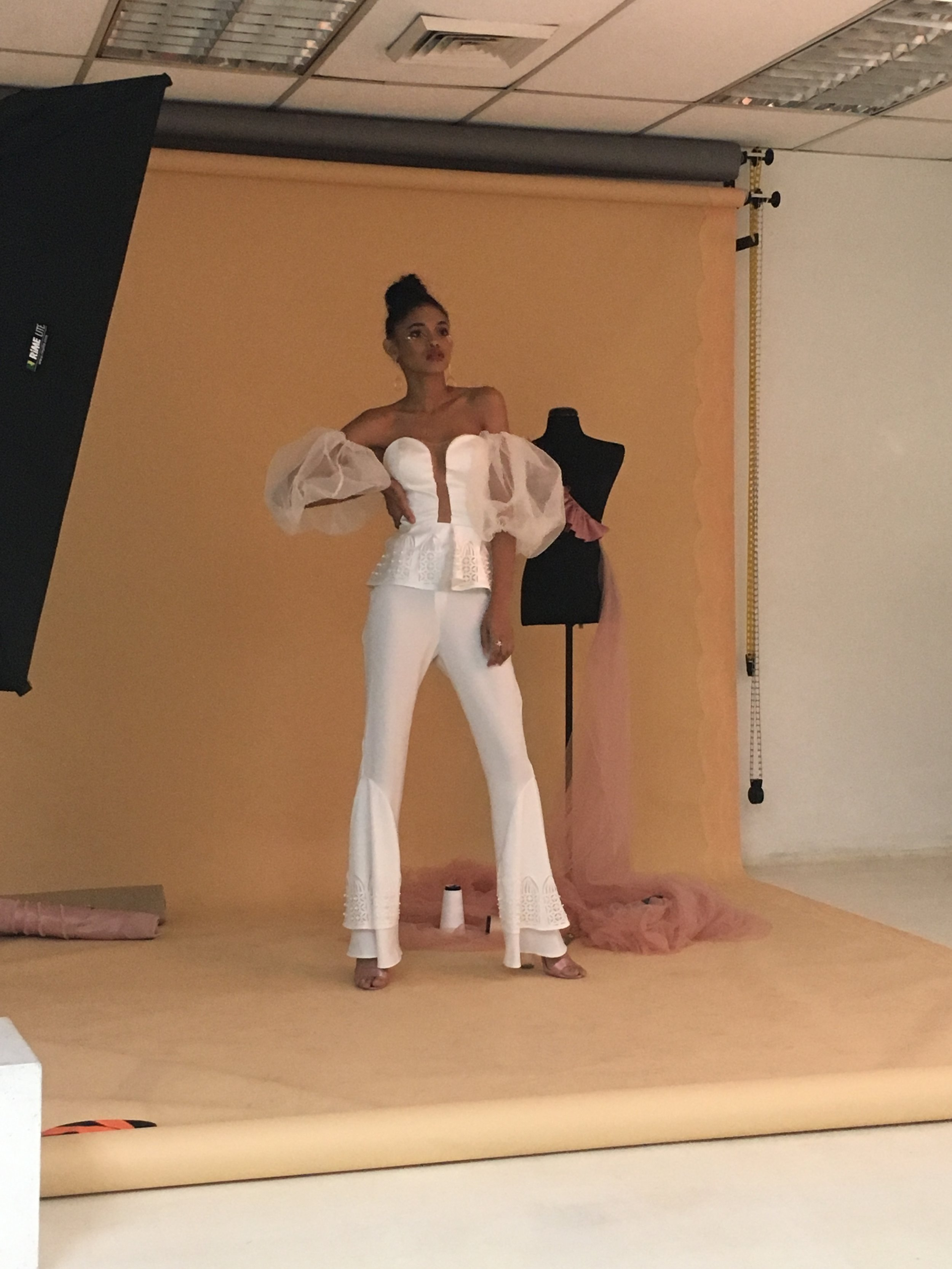 BTS of the shoot!