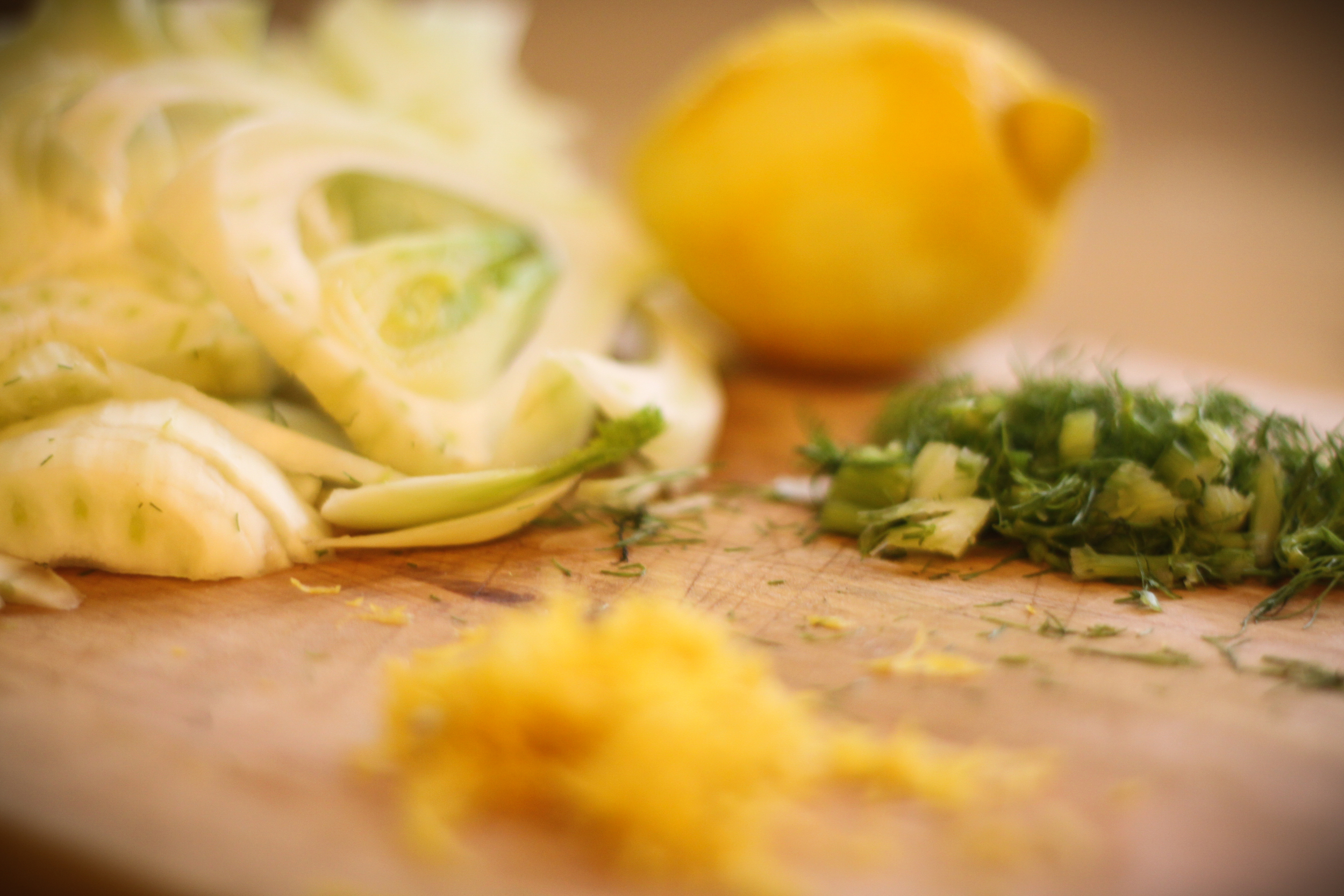 lemon fennel