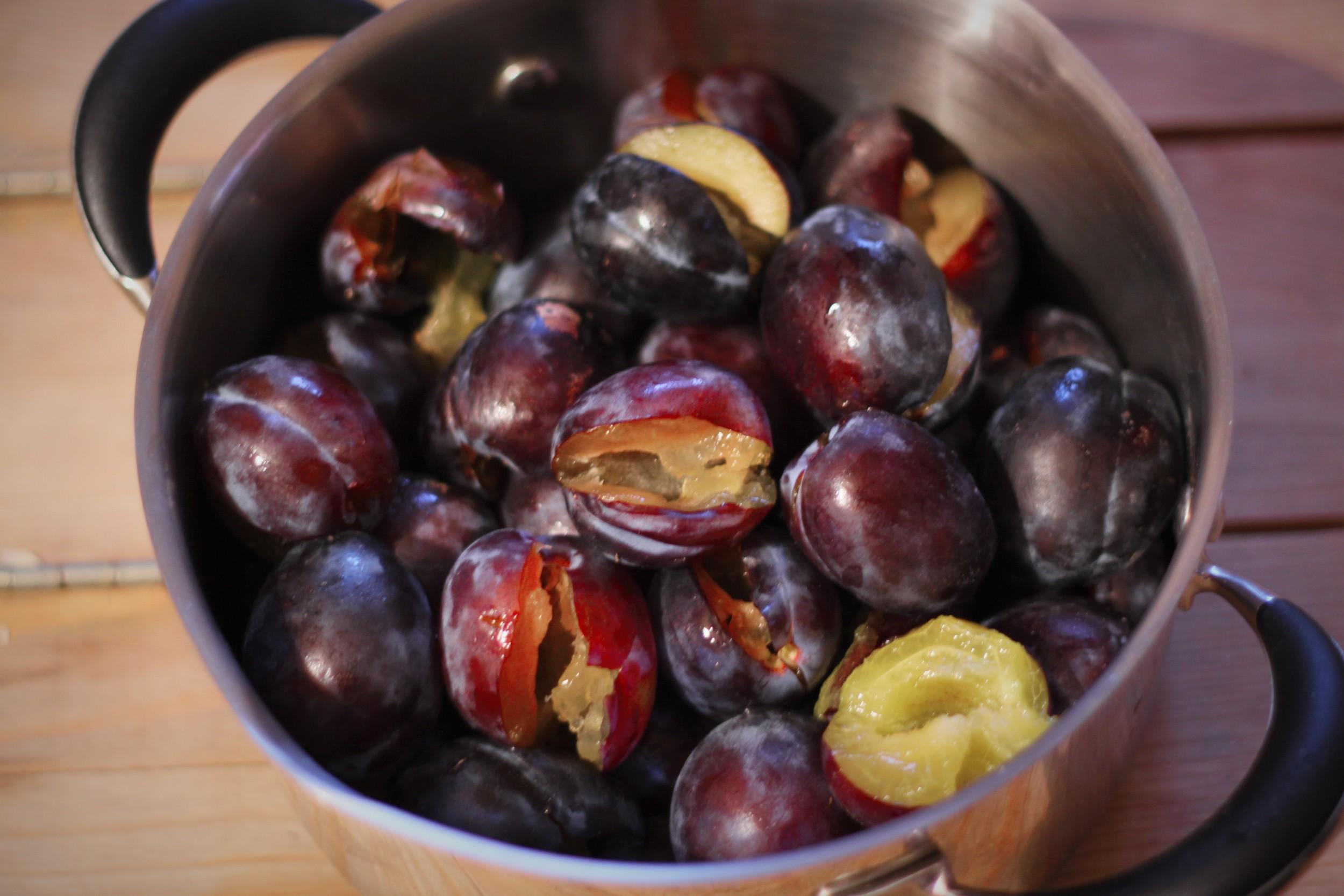 Polish plums
