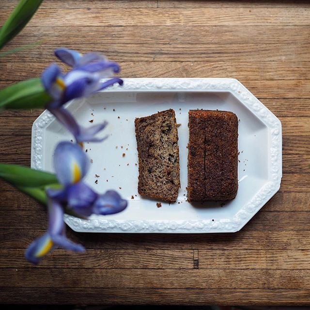 @graciegierschlund 's banana bread is always so photogenic