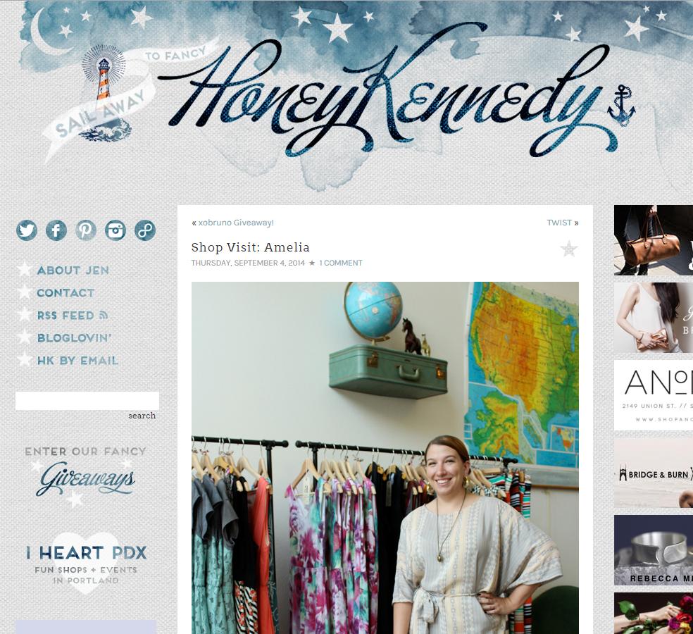 Honey Kennedy - September 2014
