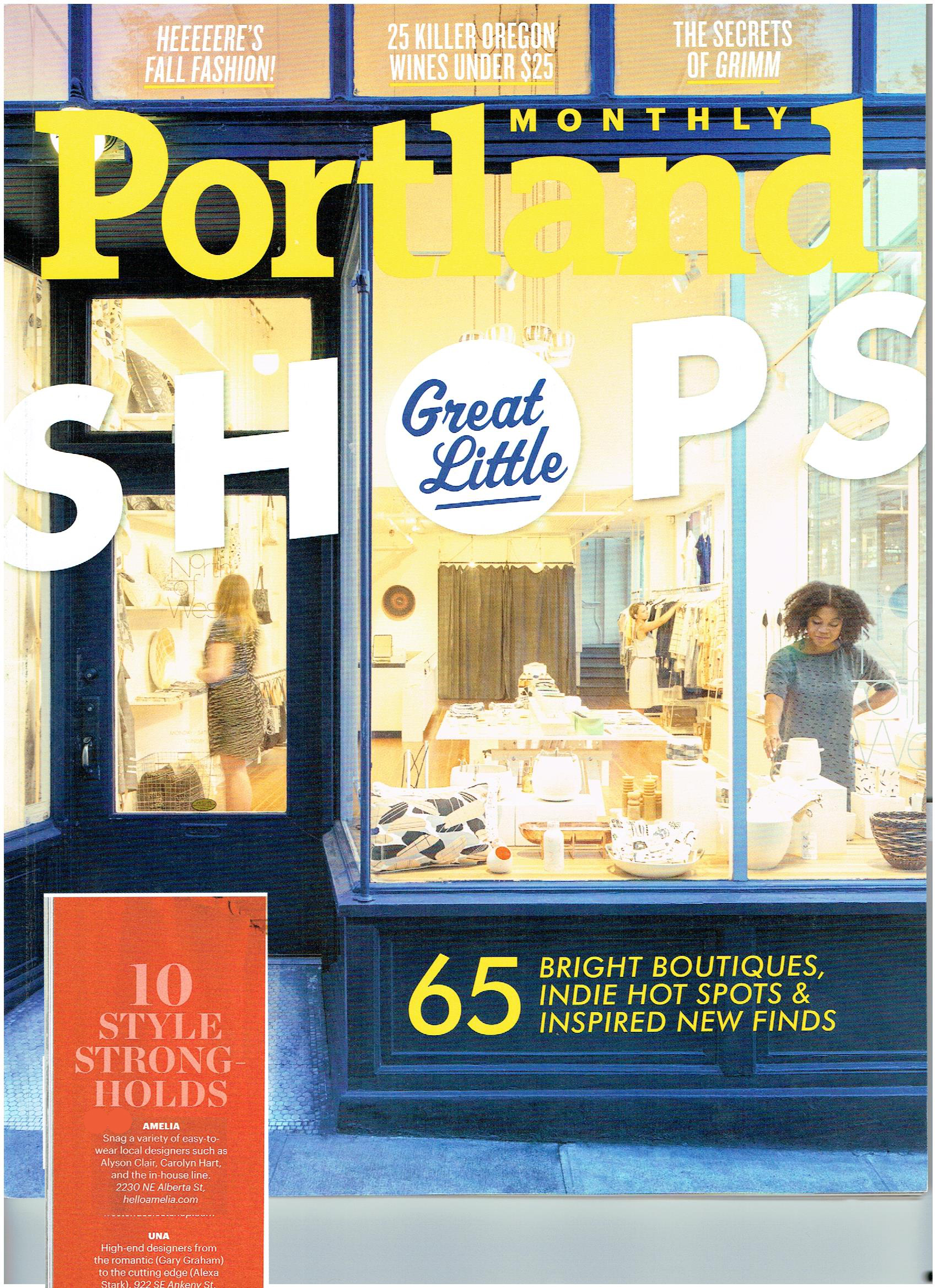 Portland Monthly - October 2015