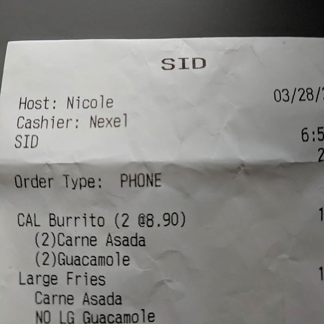 Over the phone... Cashier: Ok, and what is your name? Me: Sev. Cashier: ... Sam? Me: No, it's Sev. Cashier: Uh... Ok, it'll be ready in 15 minutes.  And now I'm Sid. #thatsnotmyname #mynameissev