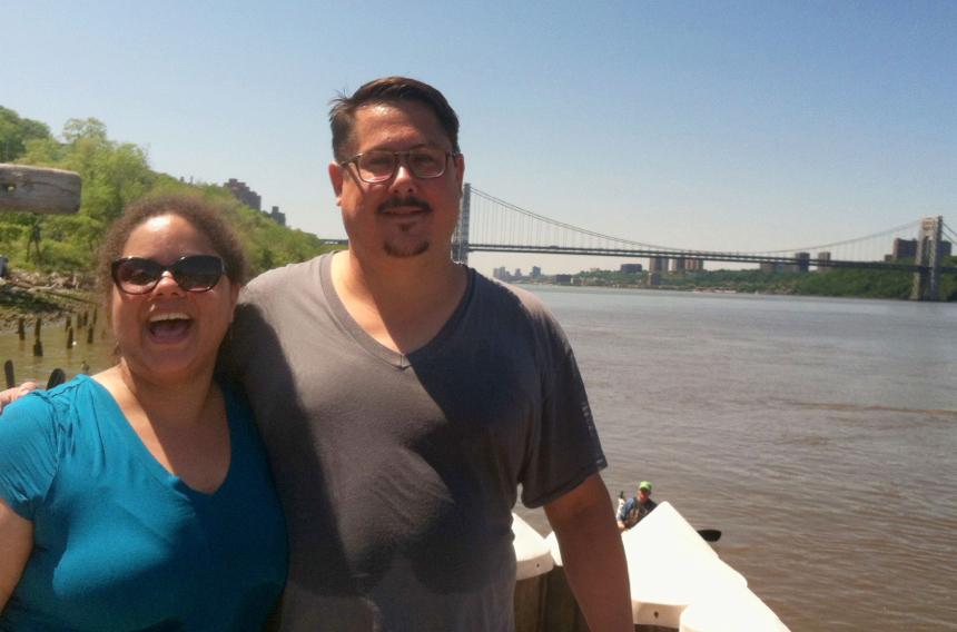 Mada Romero and Justin Haines