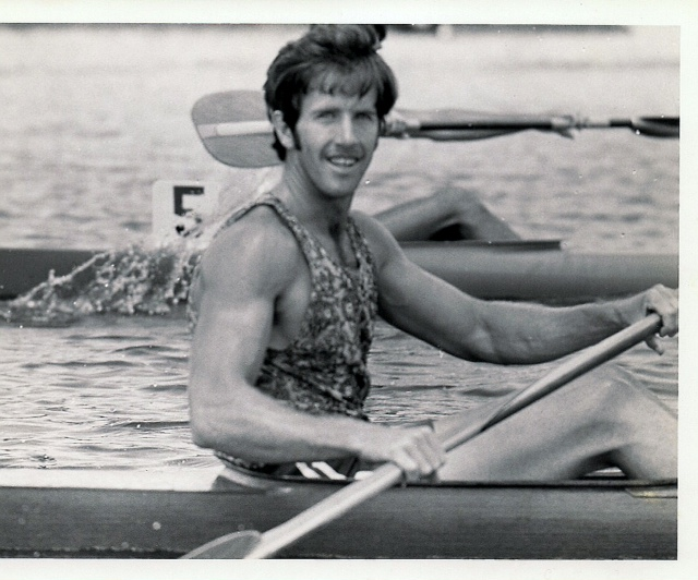 Olympian and ICC Member Steven Kelly in 1974.