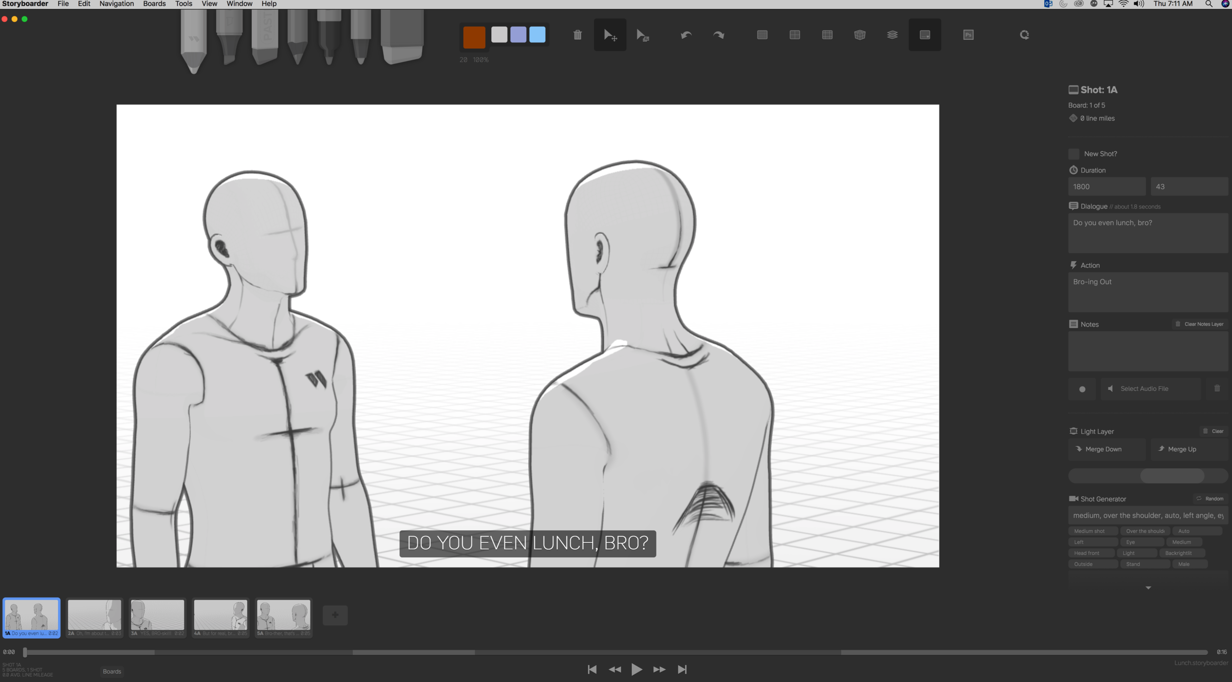 Make Better Storyboards with Storyboarder — T J  Imbrigiotta
