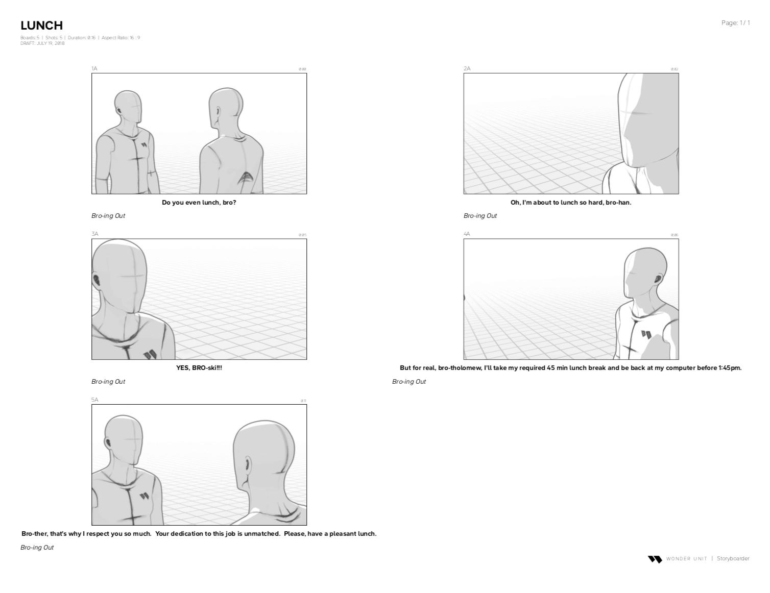 Storyboarder Storyboard Sample