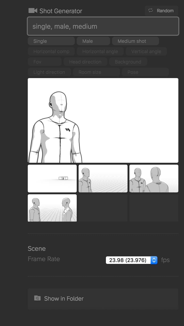 Storyboarder Image Generator