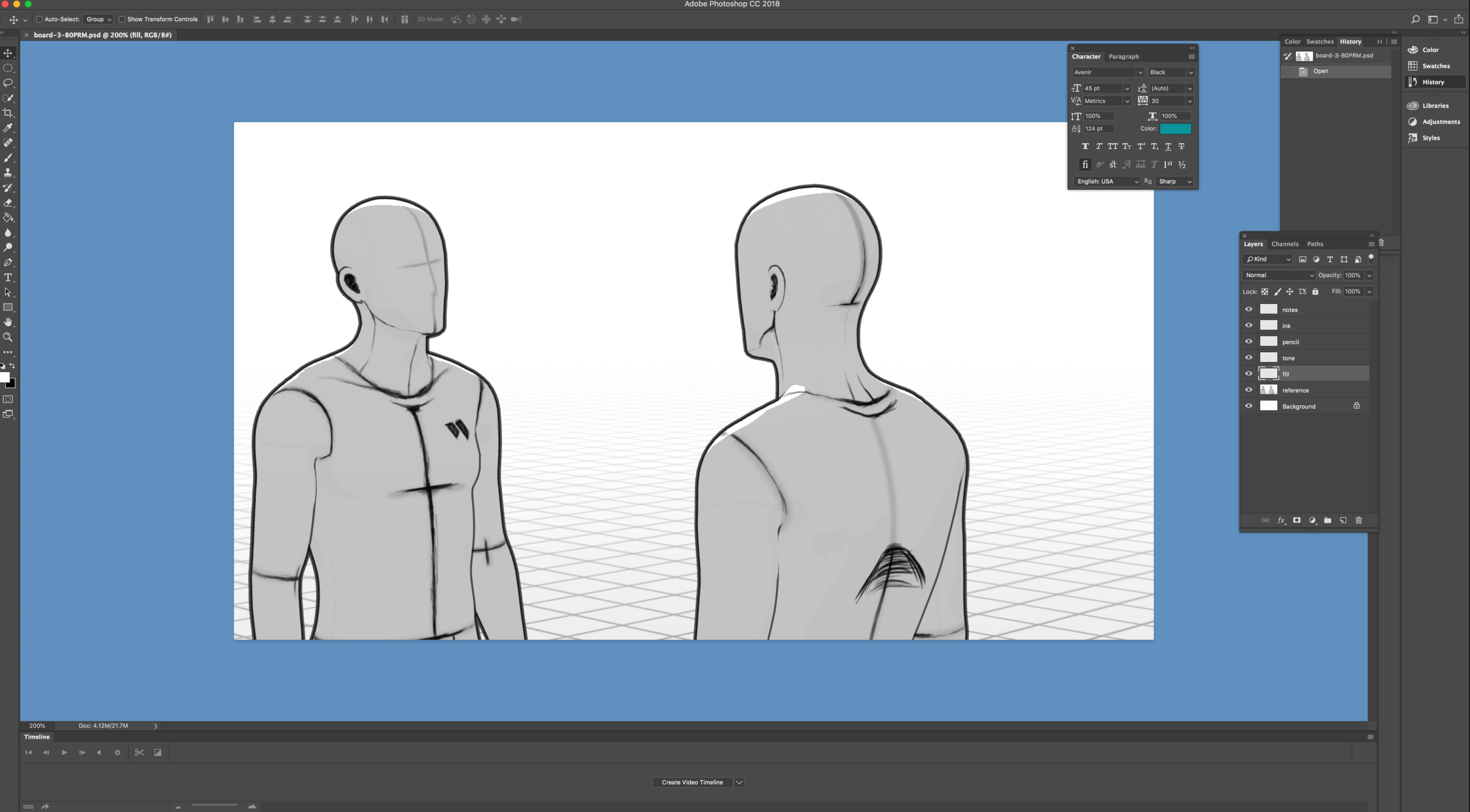 Storyboarder Adobe Photoshop Integration