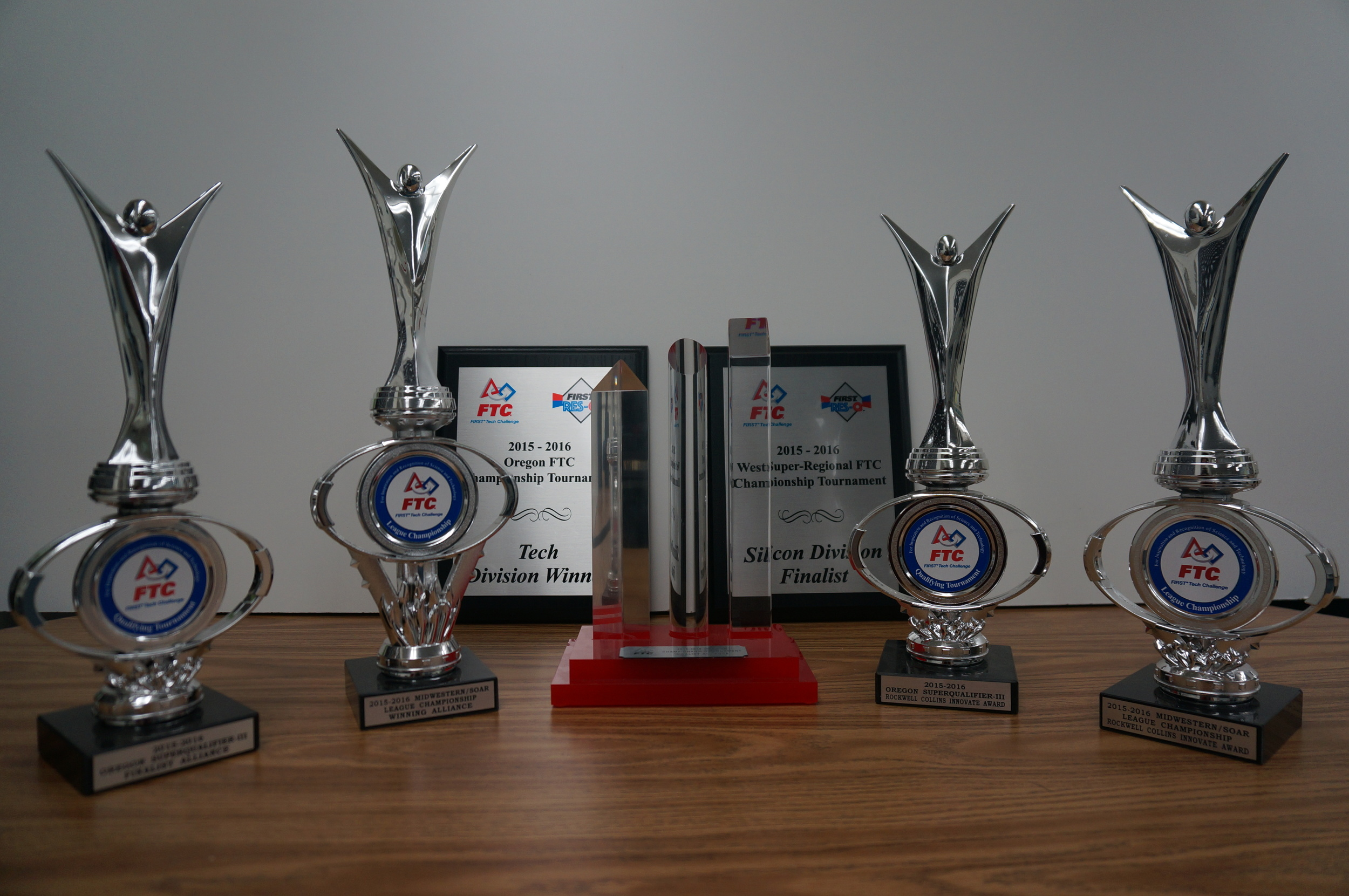 All awards from the 2015-2016 season