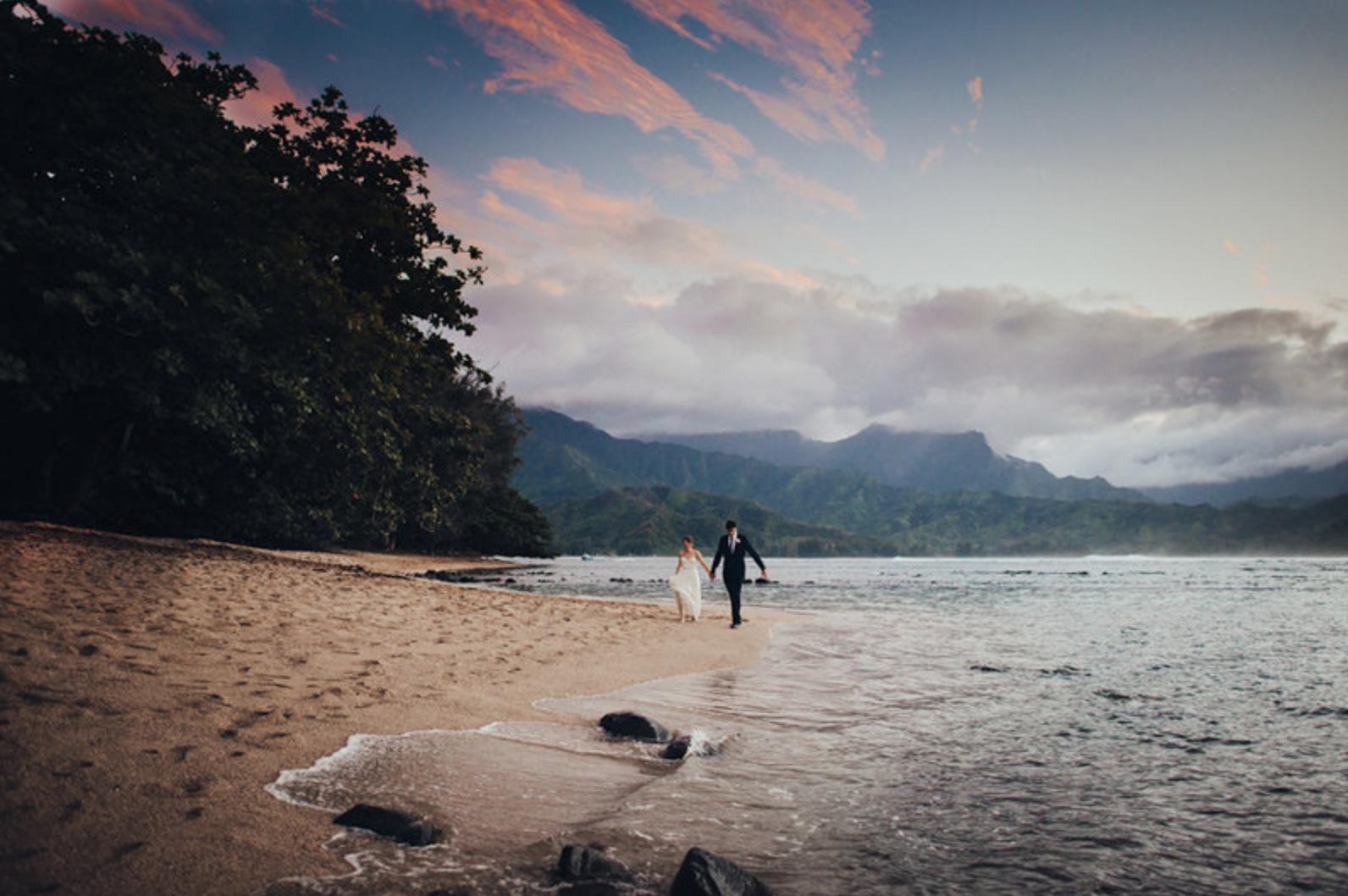 Elope Under a Vivid Hawaiian Sunset