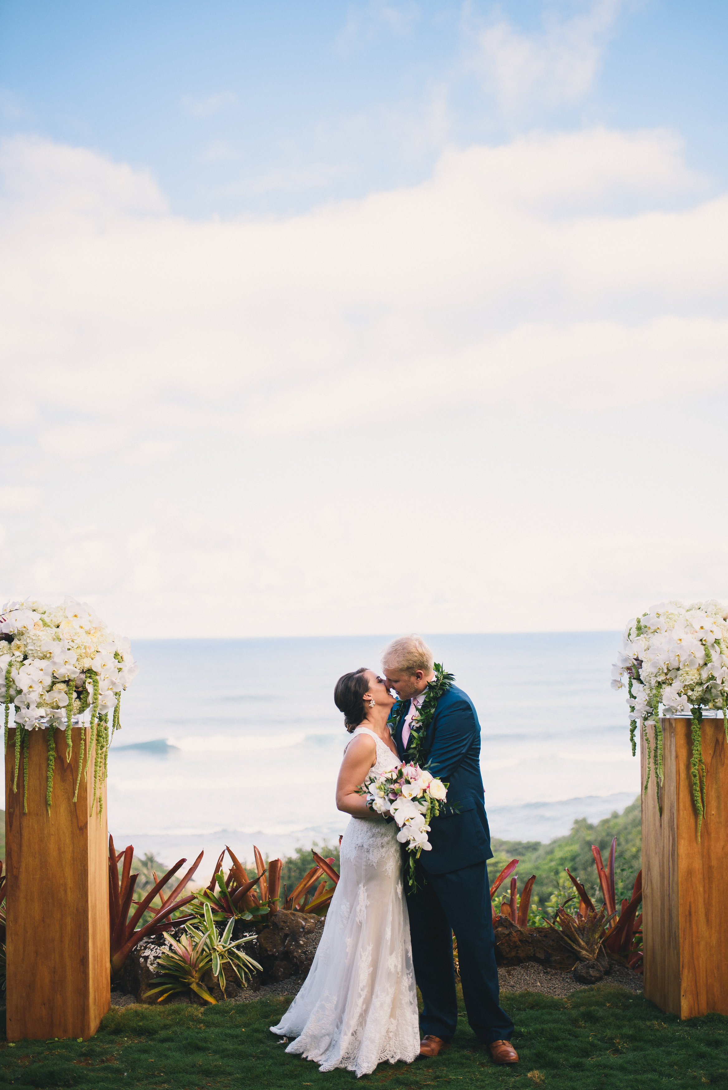 Elope at One of Our Signature, Ocean Front, Venues in Kauai, Hawaii
