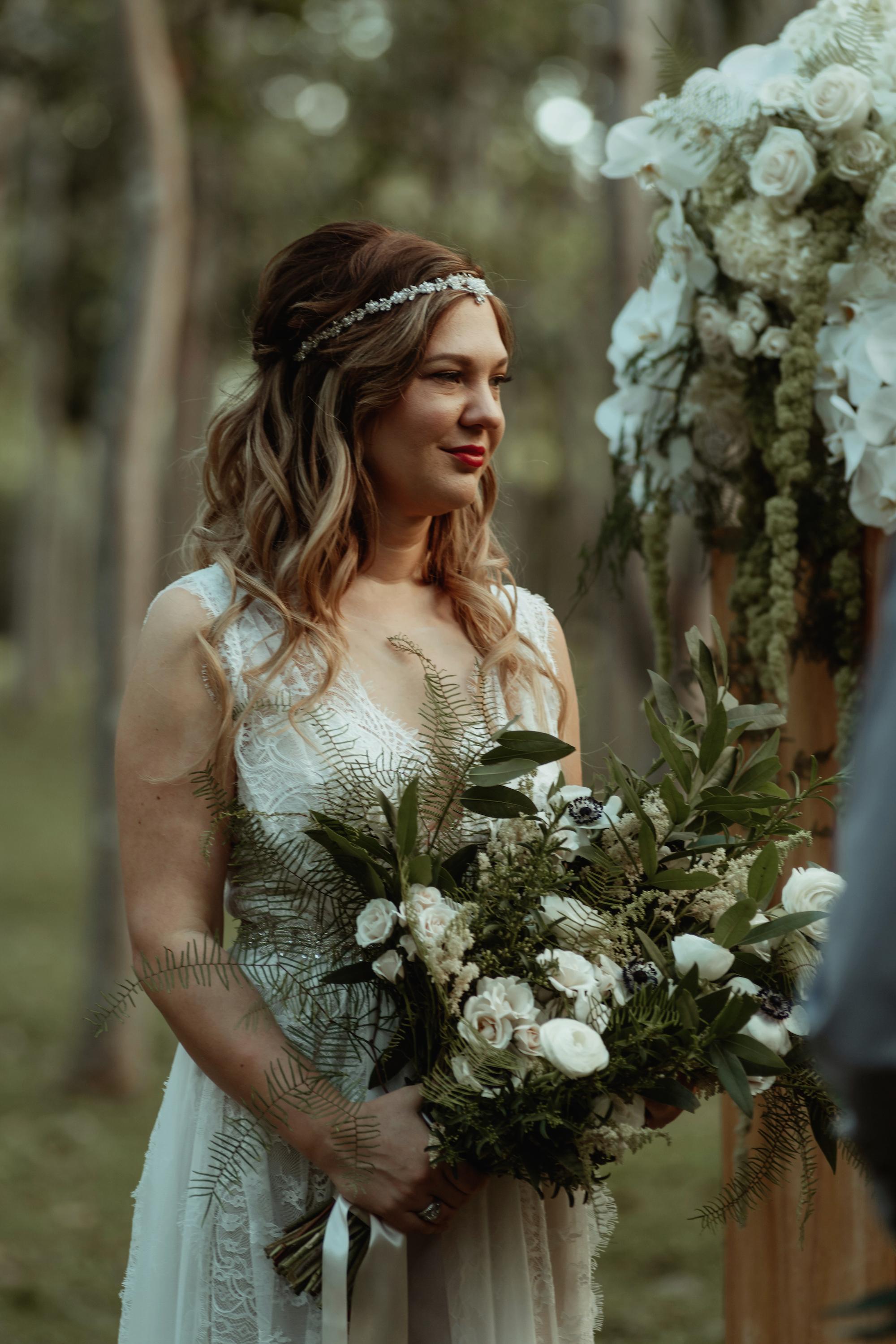 A Beautiful Boho Bride