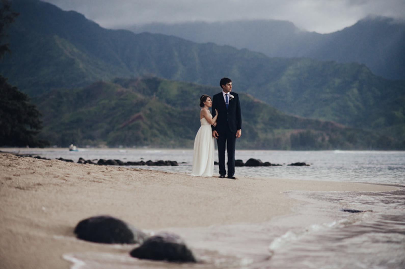 Renee + Nick, Kauai Island
