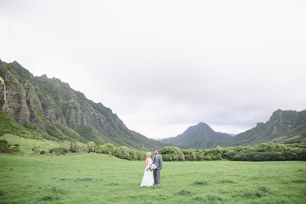 Emily + Kevin, Oahu Island