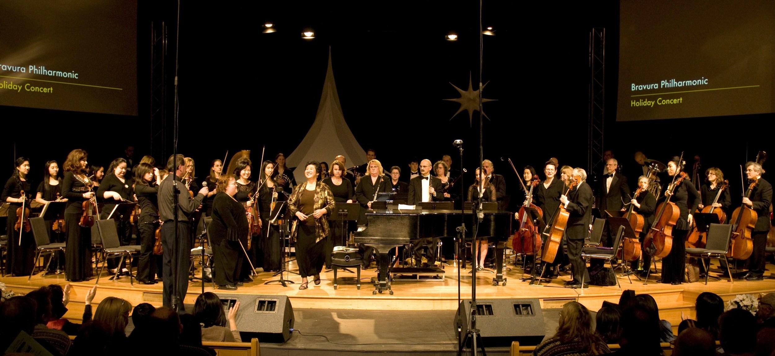 Bravura Philharmonic takes center stage