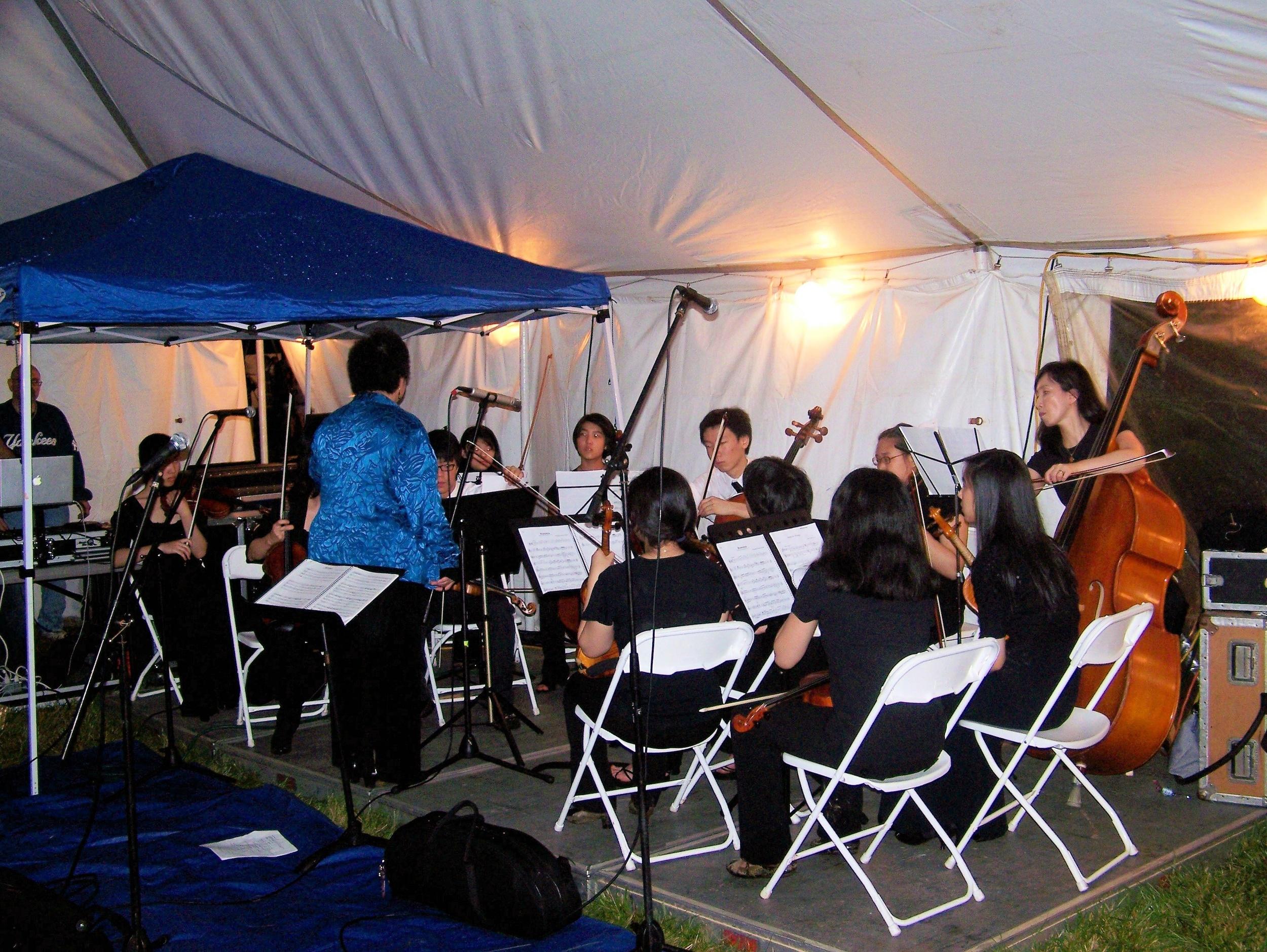 Bravura Philharmonic Strings Ensemble performing beautiful music
