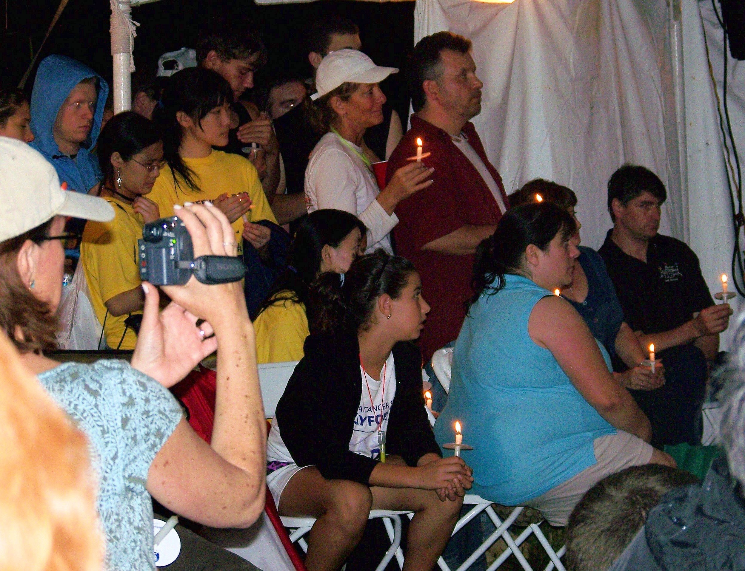 Audience appreciating the soulful musicat Luminaria