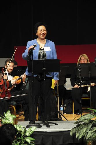 Board President, Dr. Chiu-Ling Lin