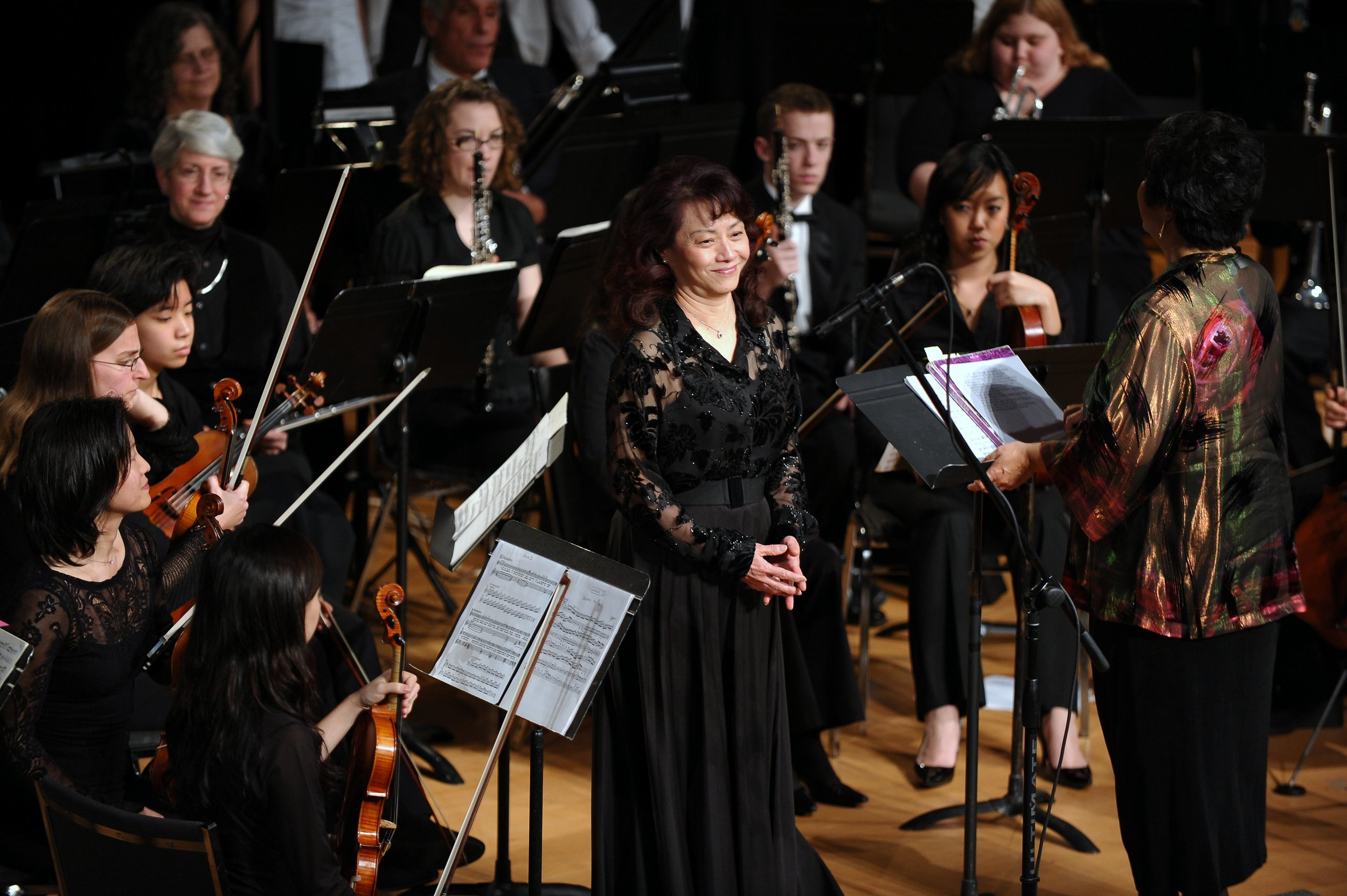 Soprano Wennie Niu's aria performance in Handel's Messiah