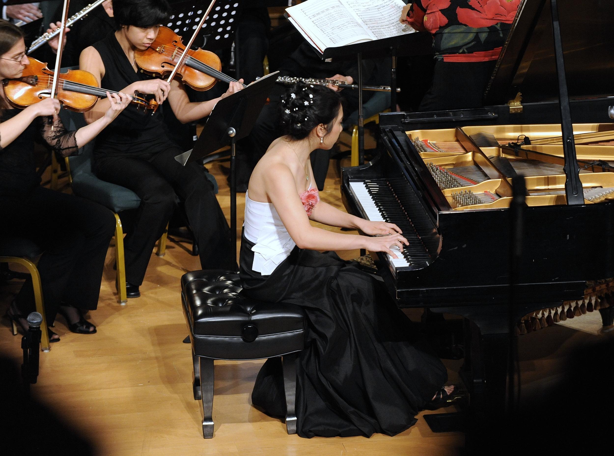 Katelyn Tran performing Prokofiev Concerto No. 3