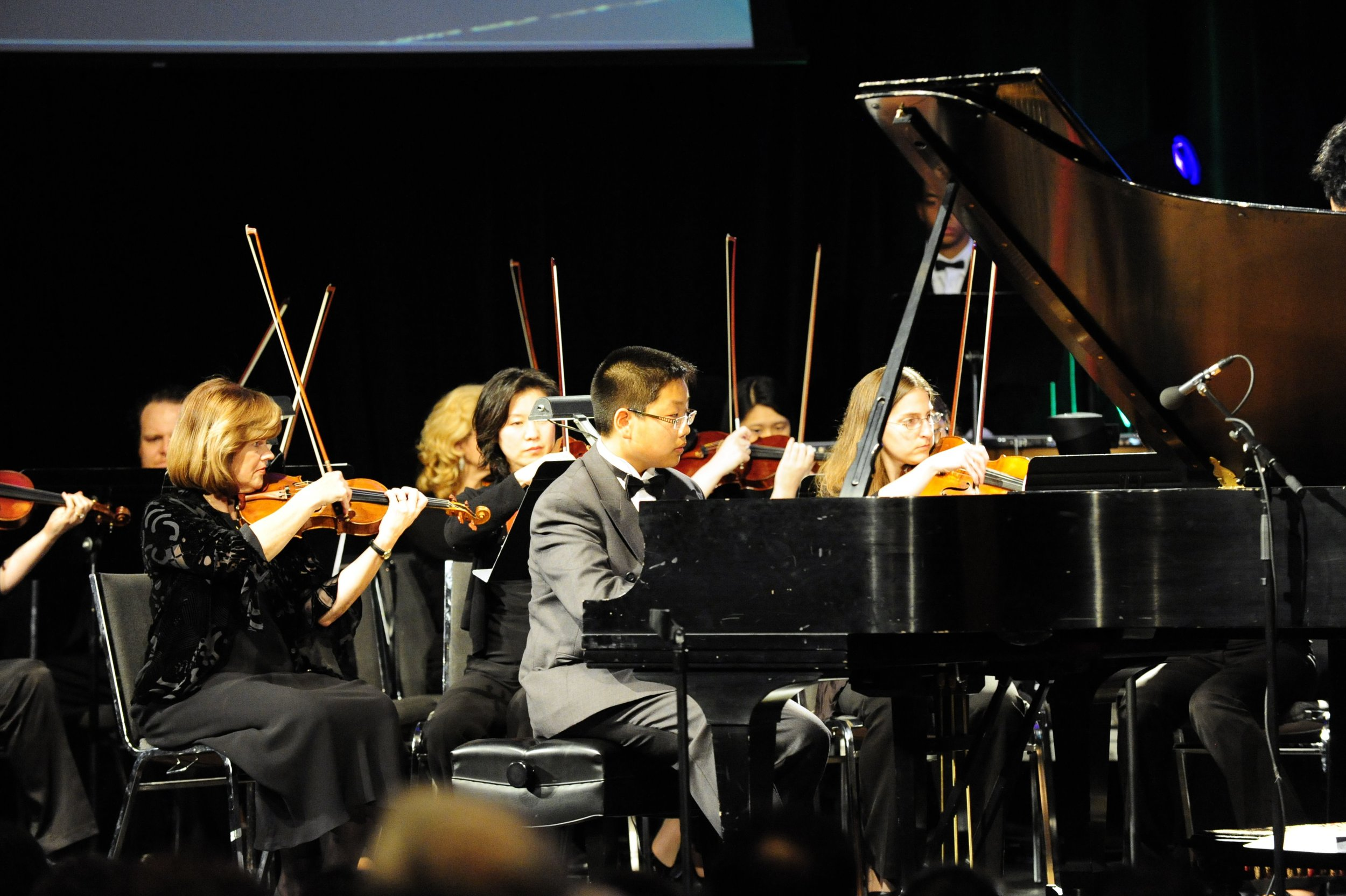 Kevin Kong performing Beethoven Piano Concerto No. 3 in C minor