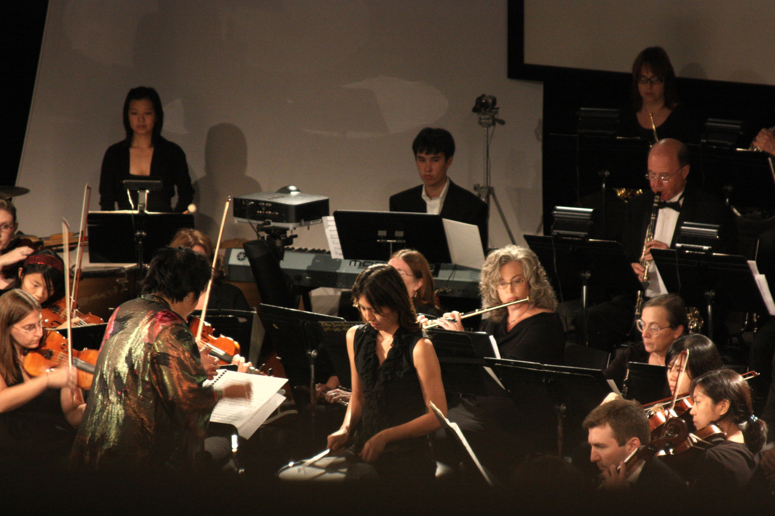 Intense snare work by Aya Kaminaguchi-Singer in Ravel's Bolero