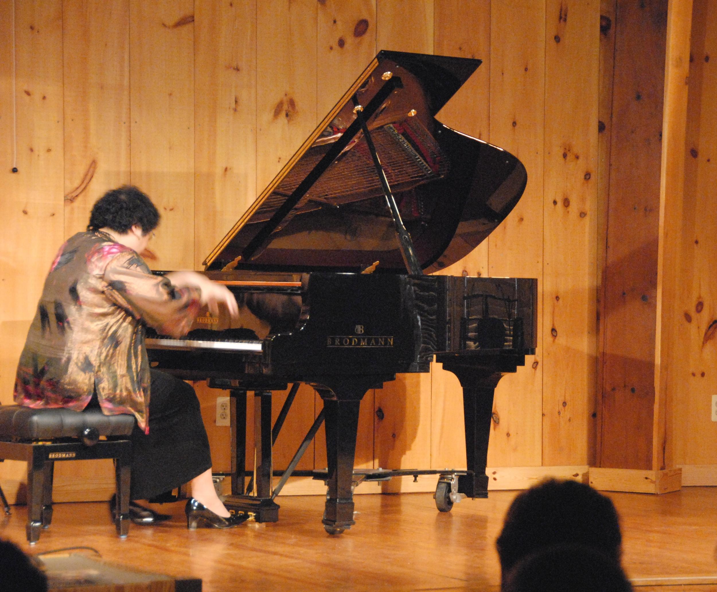 An intense performance by music director Chiu-Tze Lin