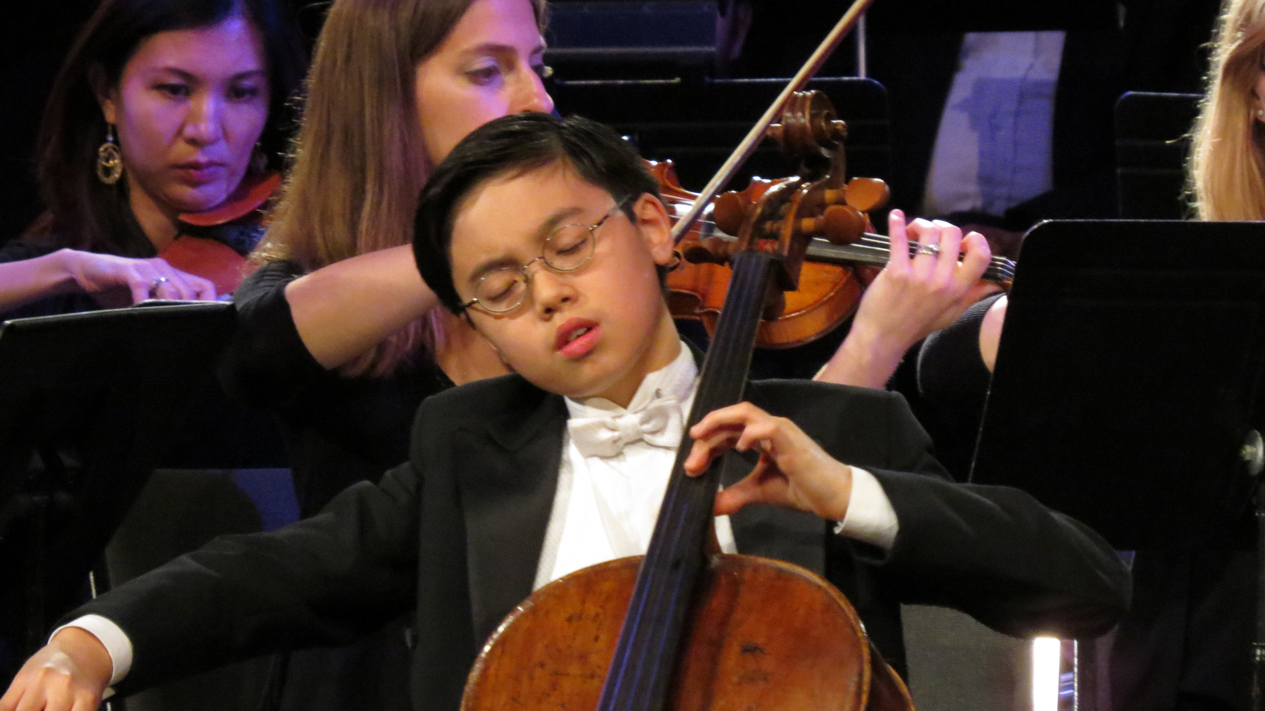 Dylan Shih-Wu performs with amazing maturity