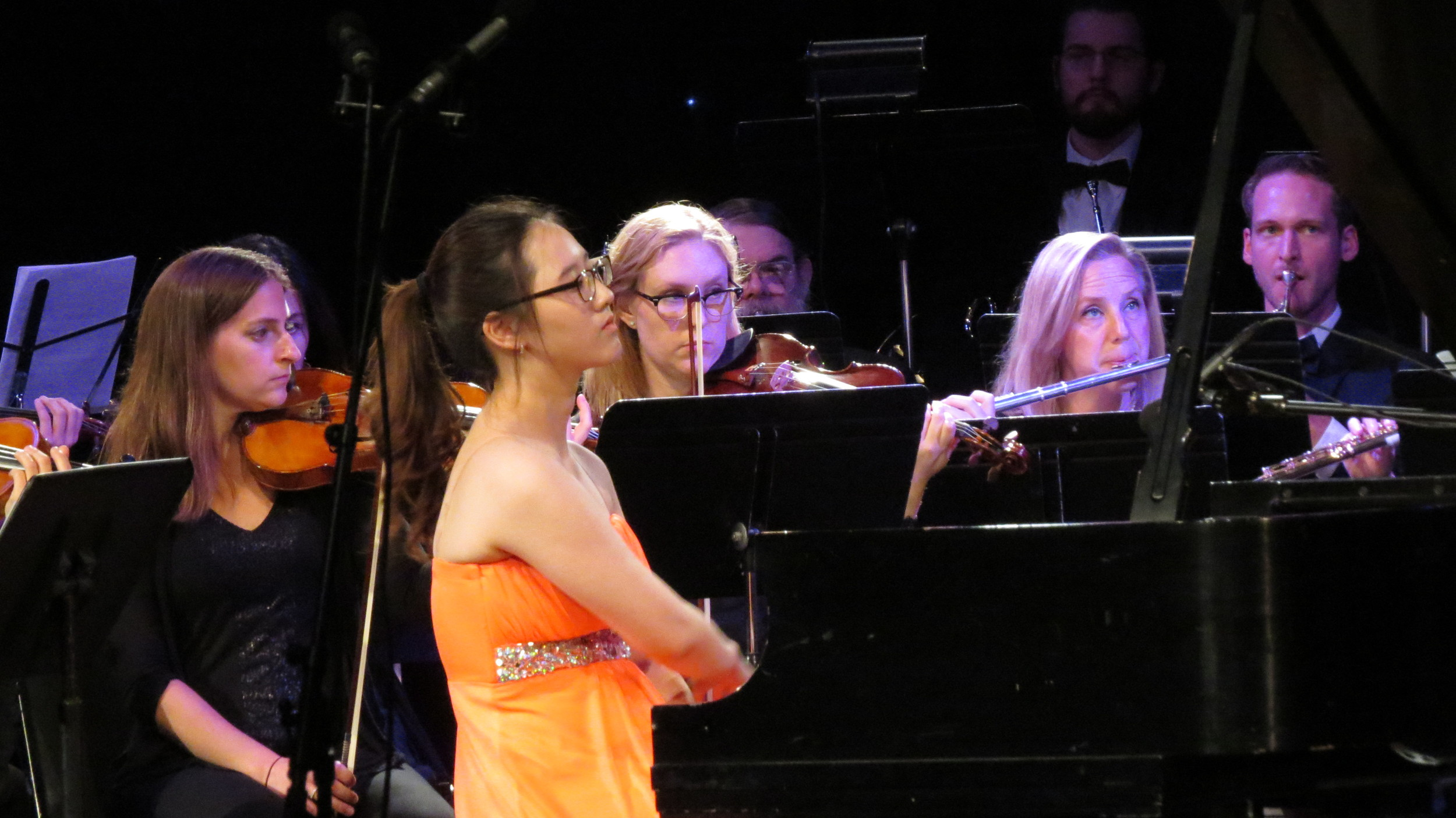 Iris Kwak pours her heart into the Grieg Piano Concerto