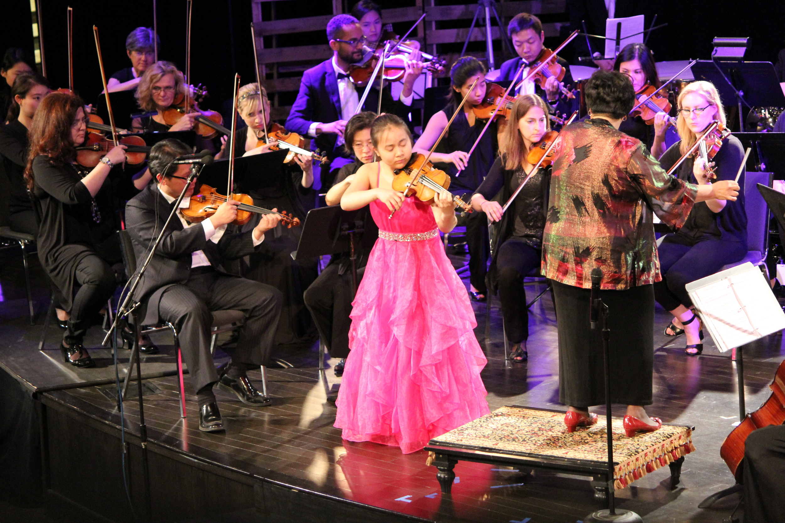 Sarah Ma astounds the audience with her young virtuosity