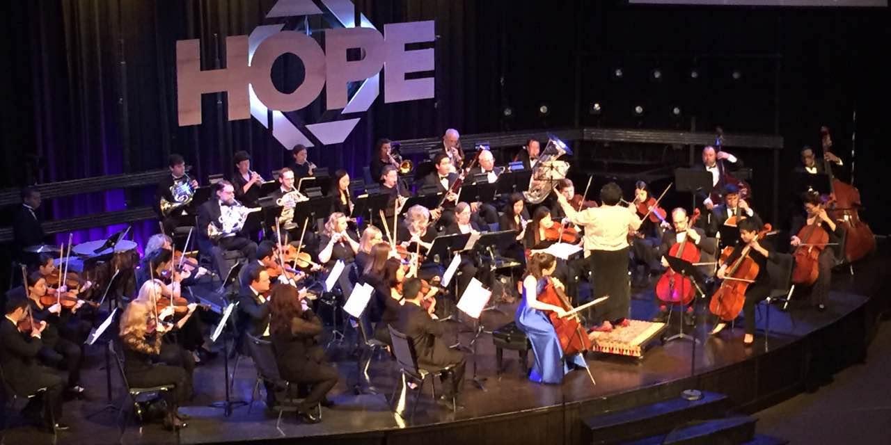 Jessica Hong's intense performance of the Dvorak Cello Concerto