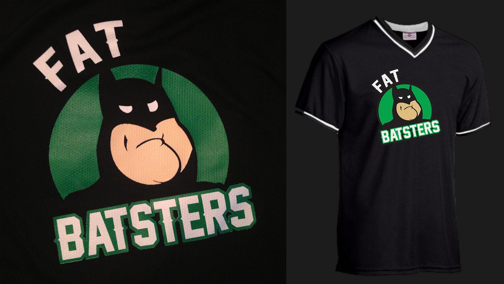 Fat Batsters Softball Jersey