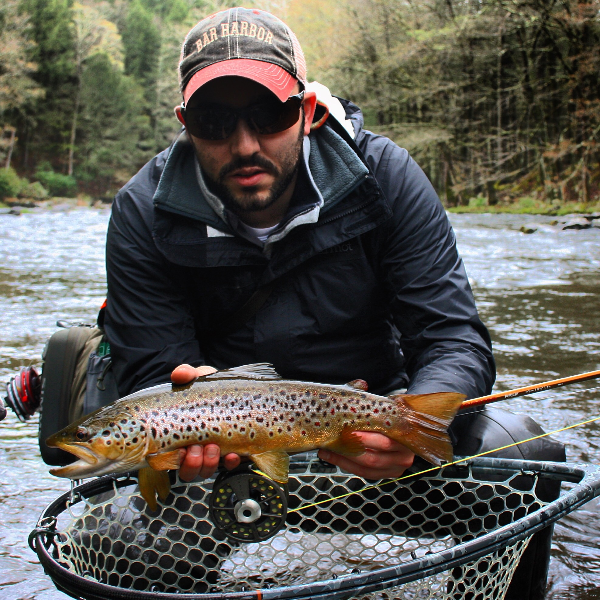 Michael Meola - Guide/Instructor - Mike enjoys all kinds of fishing, but fly fishing for trout is at the top of his list.It doesn't matter if he's casting foam dry flies at rising trout in mountain valleys, fishing technical nymph rigs in high water, or swinging wet flies and streamers, Mike's passion for chasing wild trout in wild places never ends. Mike is also an avid hiker, hunter, and former lacrosse coach.