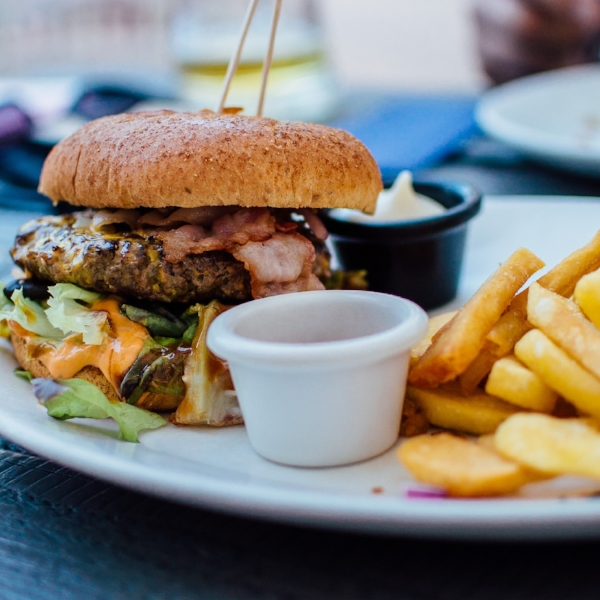 Burgers - a key component of the 3B's