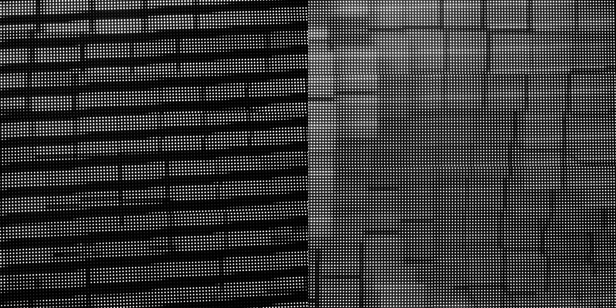 Distressed Video Screens, 2017