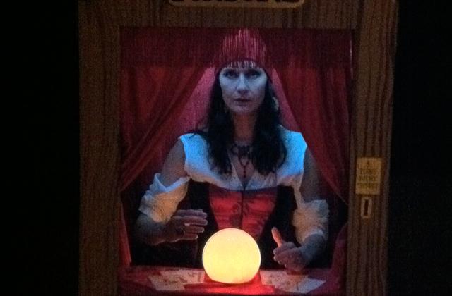 Fortune teller machine costume, 2010