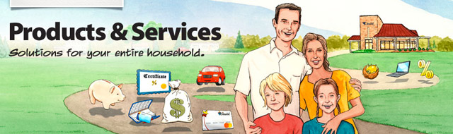 Illustration for Products and Services page