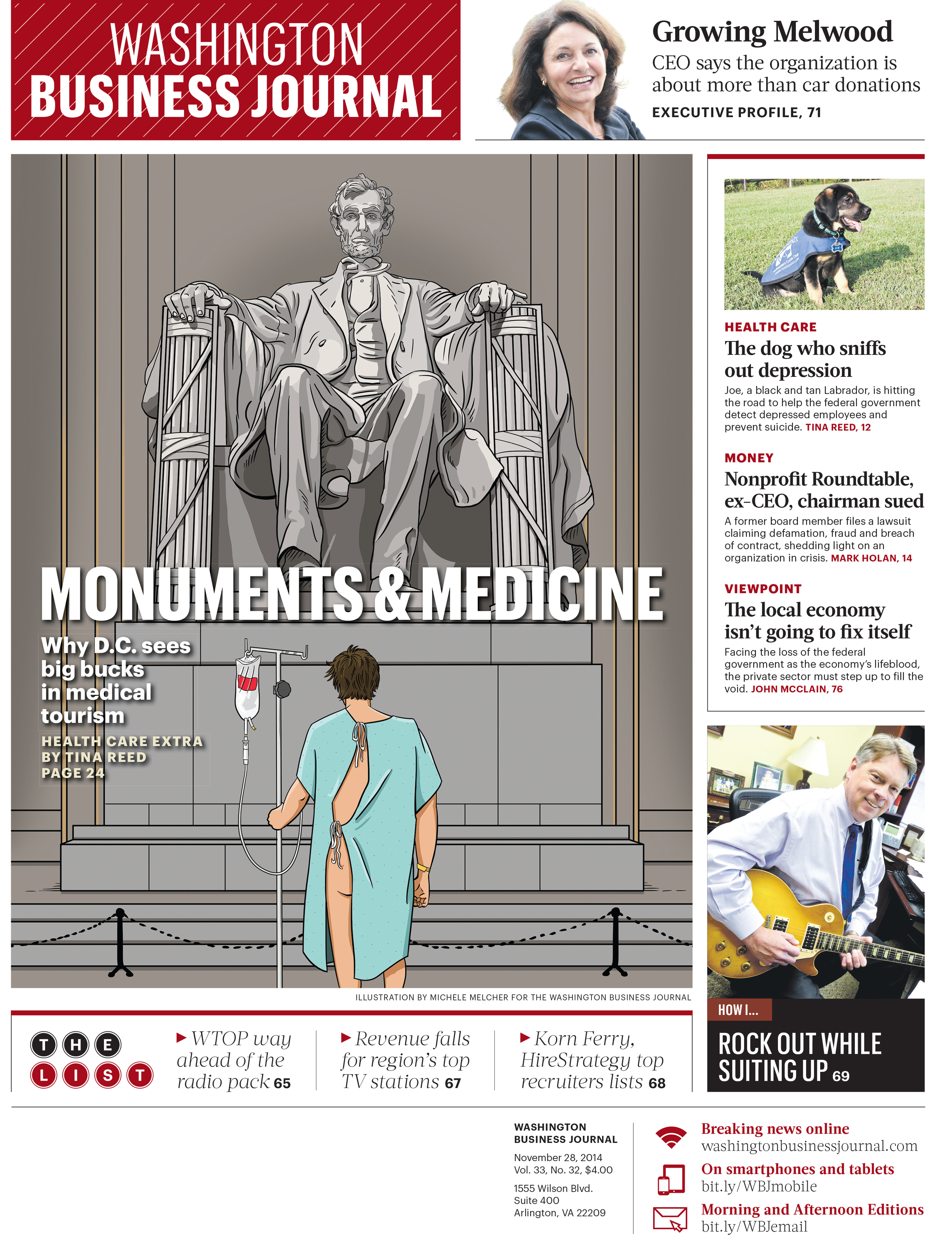 Cover for Washington Business Journal
